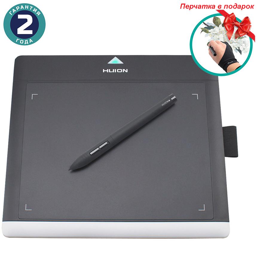 Купить Графический планшет Huion 680TF + перчатка
