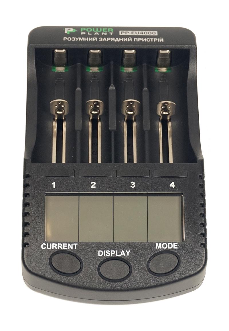 Купить Зарядное устройство PowerPlant для аккумуляторов AA, AAA/ PP-EU4000