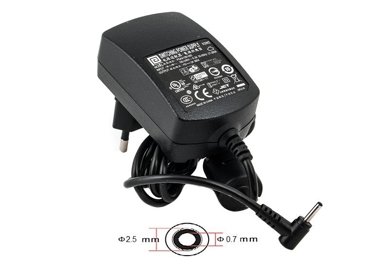 Купить Блок питания для планшетов (зарядное устройство) PowerPlant  ACER 220V, 5V 10W 2A (2.5*0.7)