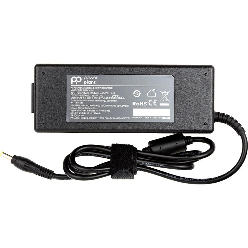 Купить Блок питания для ноутбуков PowerPlant ACER 220V, 19V 135W 7.1A (5.5*1.7)