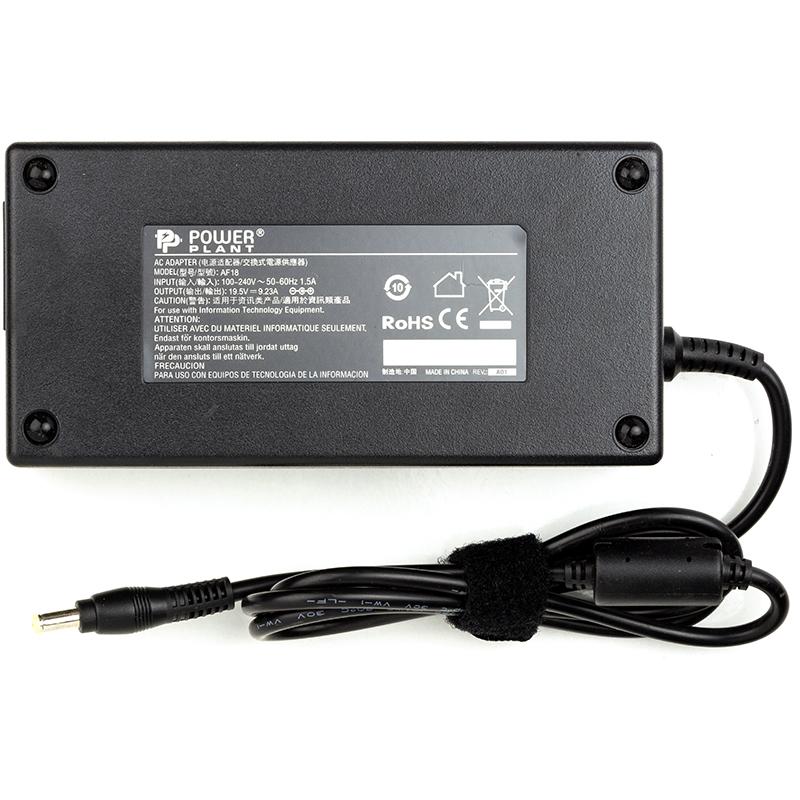 Купить Блок питания для ноутбуков PowerPlant ACER 220V, 19.5V 180W 9.23A (5.5*1.7)