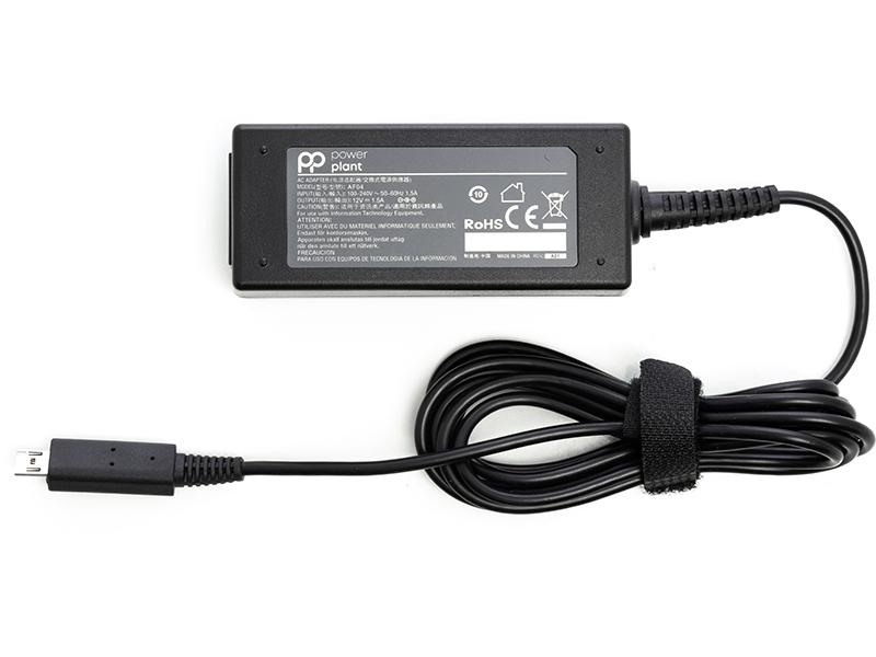 Купить Блок питания для ноутбуков PowerPlant ACER 220V, 12V 18W 1.5A (micro USB)