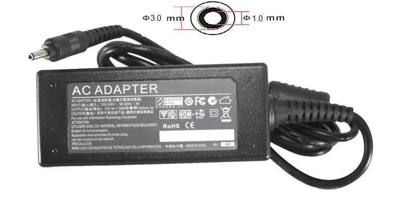 Купить Блок питания для планшетов (зарядное устройство) PowerPlant  ACER 220V, 12V  18W 1.5A (3.0*1.0)