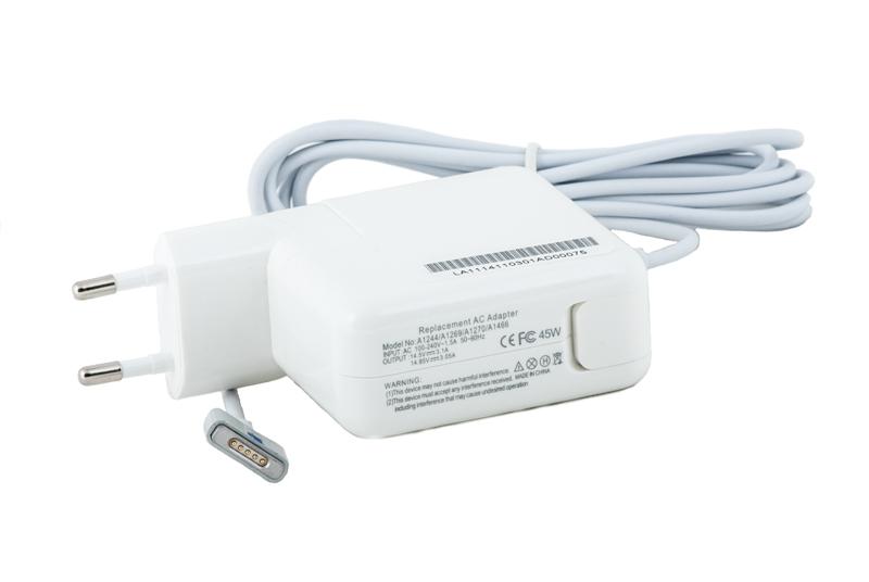 Купить Блок питания для ноутбуков PowerPlant APPLE 220V, 14.85V 45W 3.05A (MagSafe2)