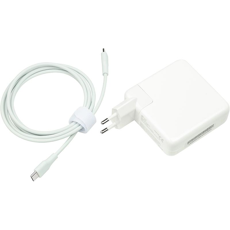 Купить Блок питания для ноутбуков PowerPlant APPLE 220V, 20V 87W 3A (USB-C)