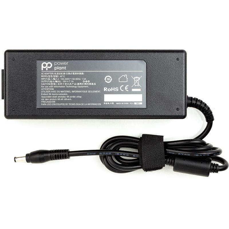 Купить Блок питания для ноутбуков PowerPlant ASUS 220V, 19V 135W 7.1A (5.5*2.5)