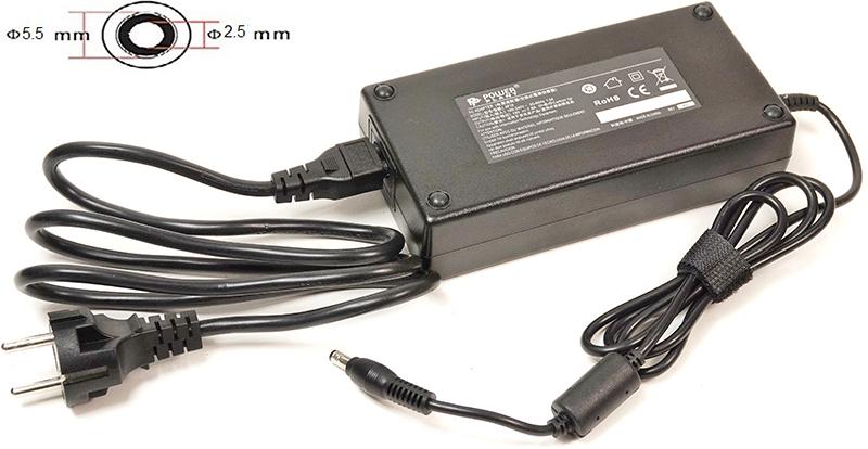 Купить Блок питания для ноутбуков PowerPlant ASUS 220V, 19V 150W 7.9A (5.5*2.5)