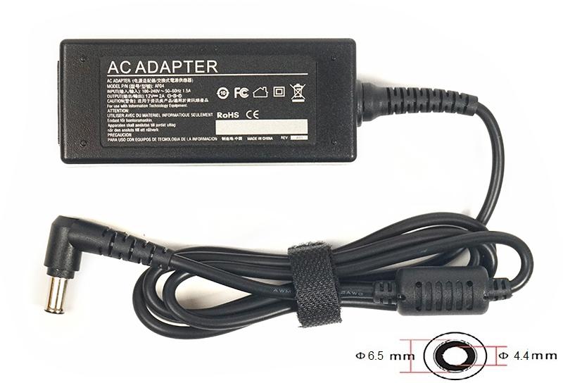 Купить Блок питания для ноутбуков PowerPlant LG 220V, 12V 24W 2A (6.5*4.4)
