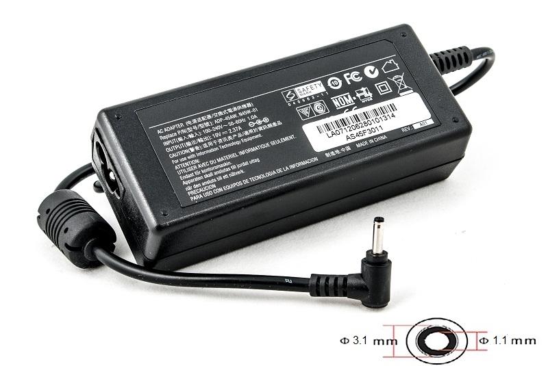 Купить Блок питания для ноутбуков PowerPlant ASUS 220V, 19V 45W 2.37A (3.0*1.1)