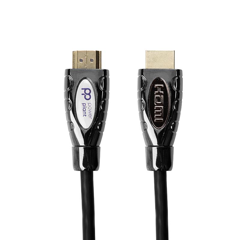 Купить Видео кабель PowerPlant HDMI - HDMI, 2м, позолоченные коннекторы, 2.0V, Double ferrites, Highspeed