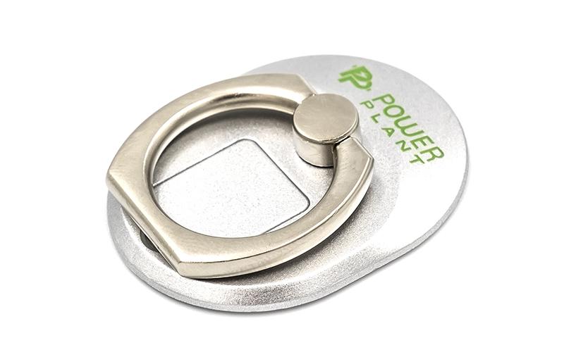 Купить Кольцо держатель для смартфонов PowerPlant, серебристый
