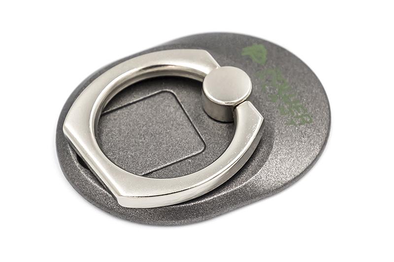 Купить Кольцо держатель для смартфонов PowerPlant, черный