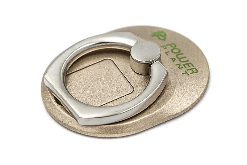 Купить Кольцо держатель для смартфонов PowerPlant, золотой