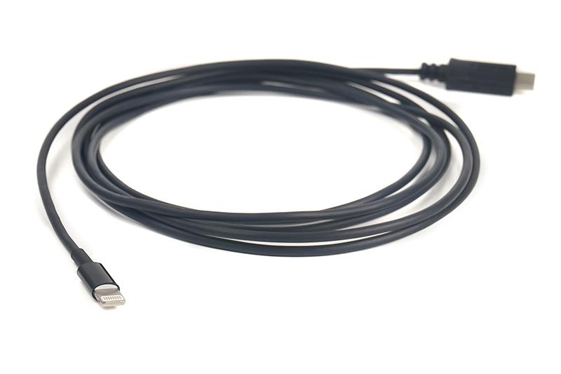 Купить Кабель PowerPlant USB Type-C - Lightning, 2 м