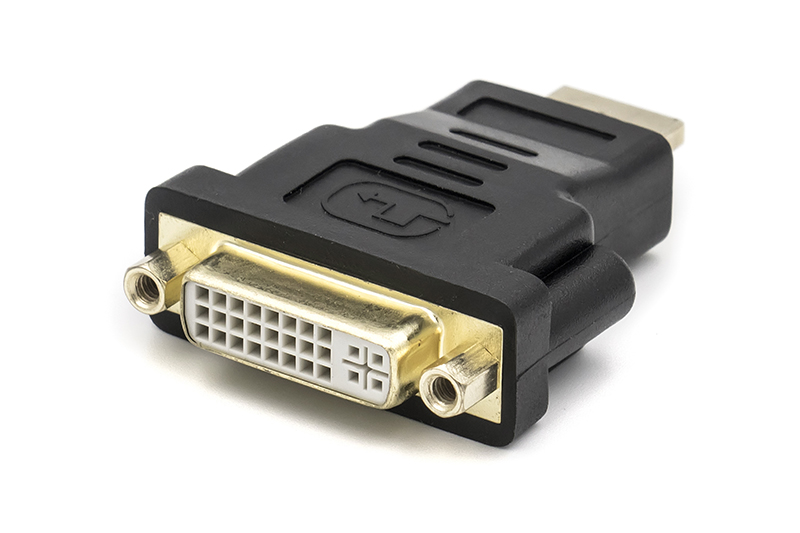 Купить Переходник PowerPlant HDMI M - DVI F (A-HDMI-DVI-2)