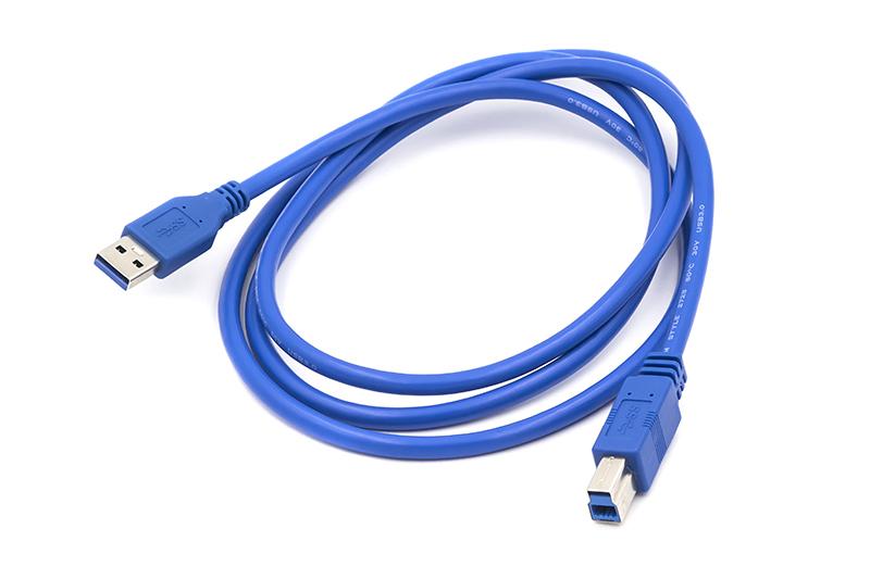 Купить Кабель PowerPlant USB 3.0 AM - BM, 1.5 м
