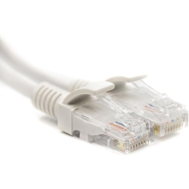 Купить Патч-корд PowerPlant Cat5E UTP 0.5м, белый