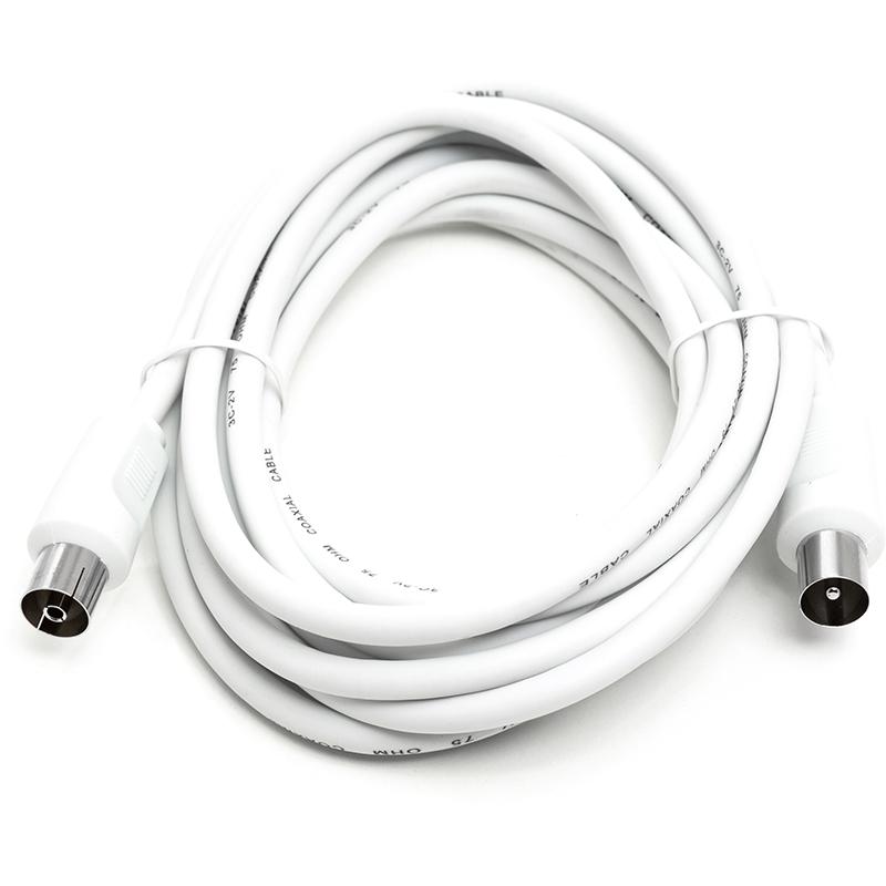 Купить Кабель антенныйAV 3 м White