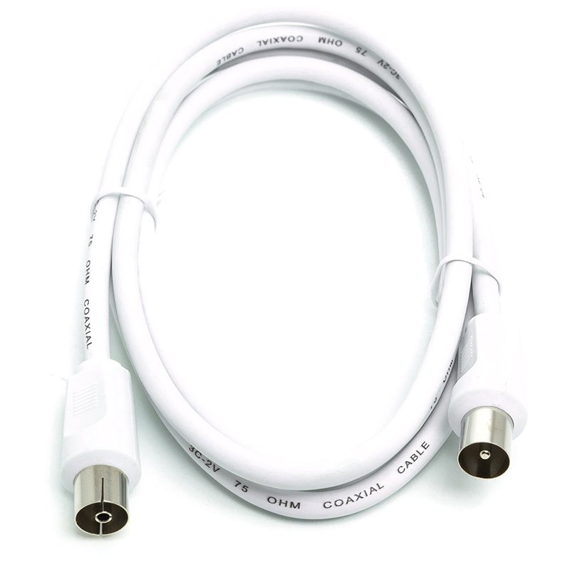 Купить Кабель антенныйAV 1,5 м White