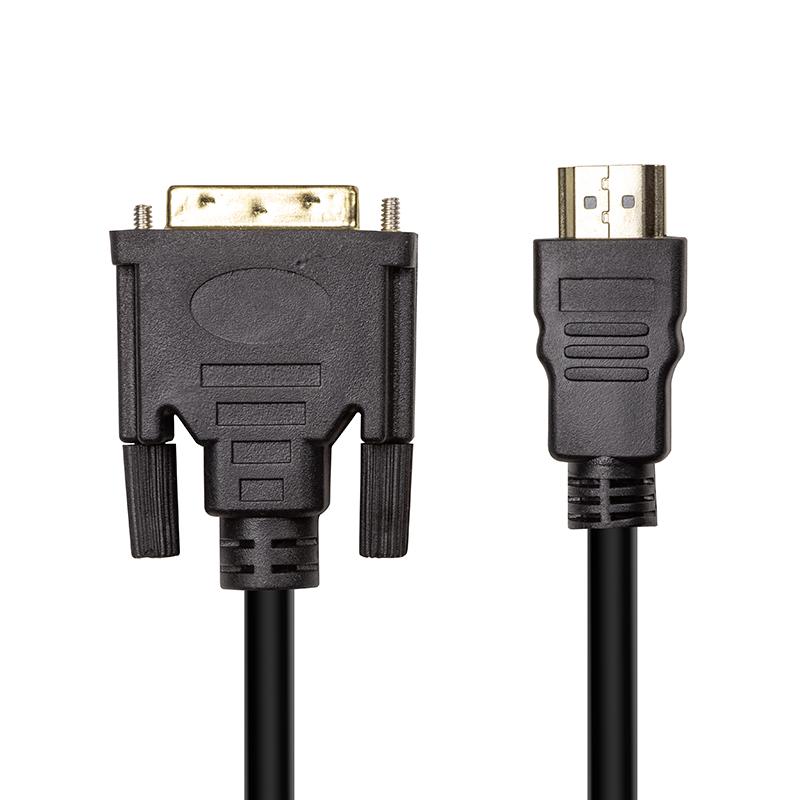 Купить Відео кабель PowerPlant HDMI (M) - DVI (M), 1.8 м