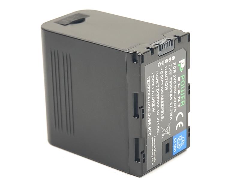 Купить Аккумулятор PowerPlant JVC SSL-JVC70 7800mAh