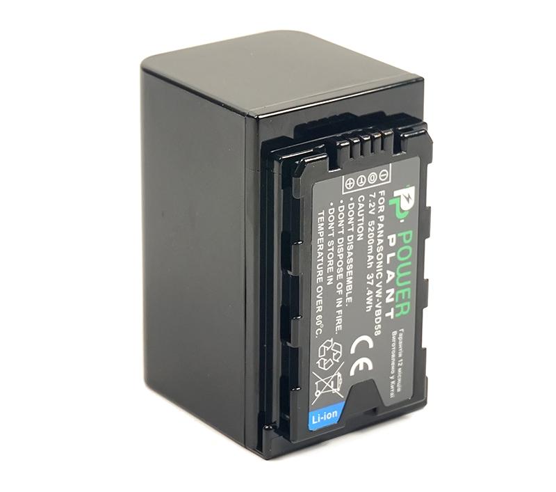 Купить Аккумулятор PowerPlant Panasonic VW-VBD58 5200mAh