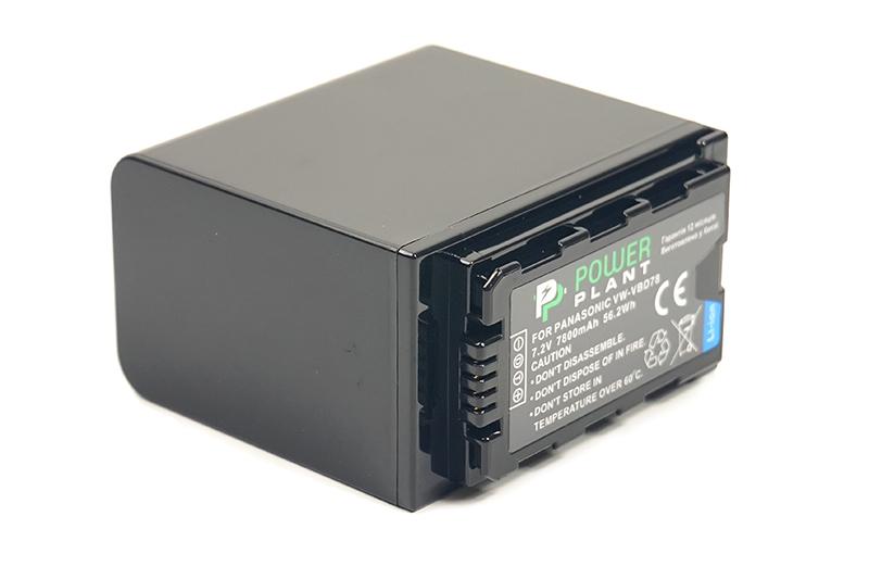 Купить Аккумулятор PowerPlant Panasonic VW-VBD78 7800mAh