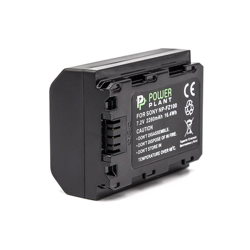 Купить Аккумулятор PowerPlant Sony NP-FZ100 2280mAh