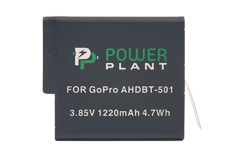 Купить Аккумулятор PowerPlant для GoPro AHDBT-501 1220mAh