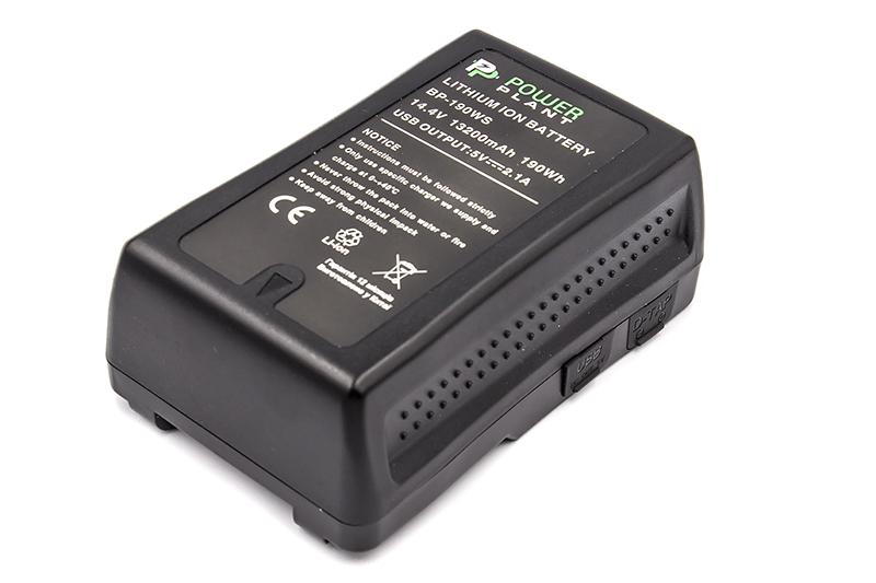 Купить Аккумулятор V-mount PowerPlant Sony BP-190WS 13200mAh