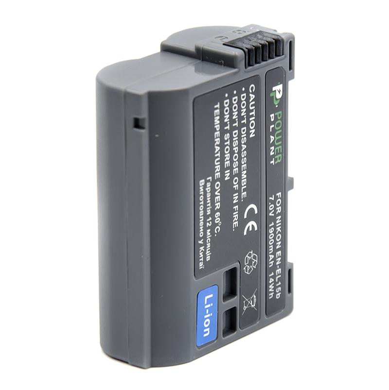 Купить Аккумулятор PowerPlant Nikon EN-EL15b 1900mAh