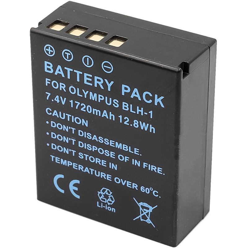 Купить Аккумулятор PowerPlant Olympus BLH-1 1720mAh (декодирован)