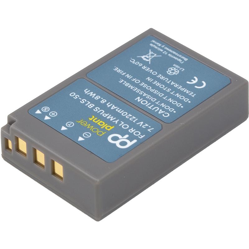 Купить Аккумулятор PowerPlant Olympus BLS-50 1100mAh