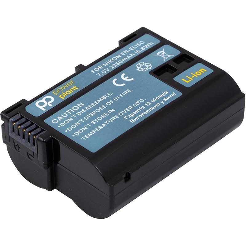 Купить Аккумулятор PowerPlant Nikon EN-EL15C 2250mAh