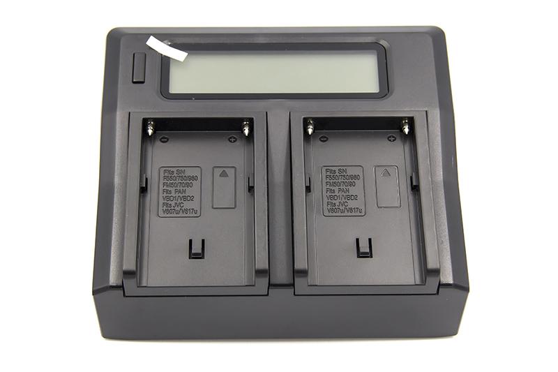 Купить Зарядное устройство PowerPlant Dual Sony NP-F970 для двух аккумуляторов
