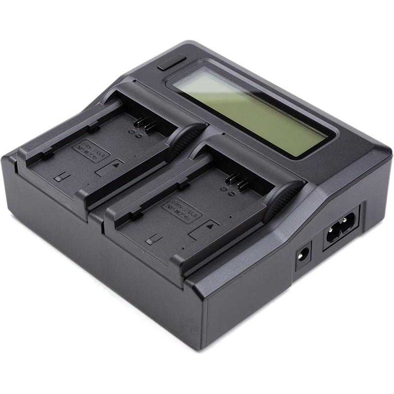 Купить Зарядное устройство PowerPlant Fuji NP-W235 для двух аккумуляторов