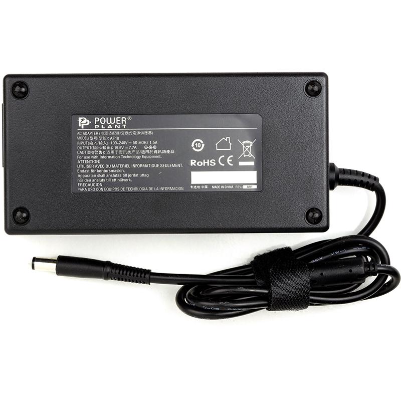 Купить Блок питания для ноутбуков PowerPlant DELL 220V, 19.5V 150W 7.7A (7.4*5.0)