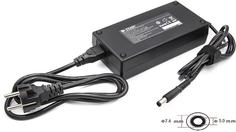 Купить Блок питания для ноутбуков PowerPlant DELL 220V, 19.5V 180W 9.23A (7.4*5.0)