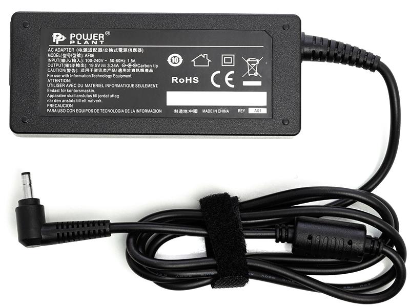 Купить Блок питания для ноутбуков PowerPlant DELL 220V, 19.5V 65W 3.34A (4.0*1.7)