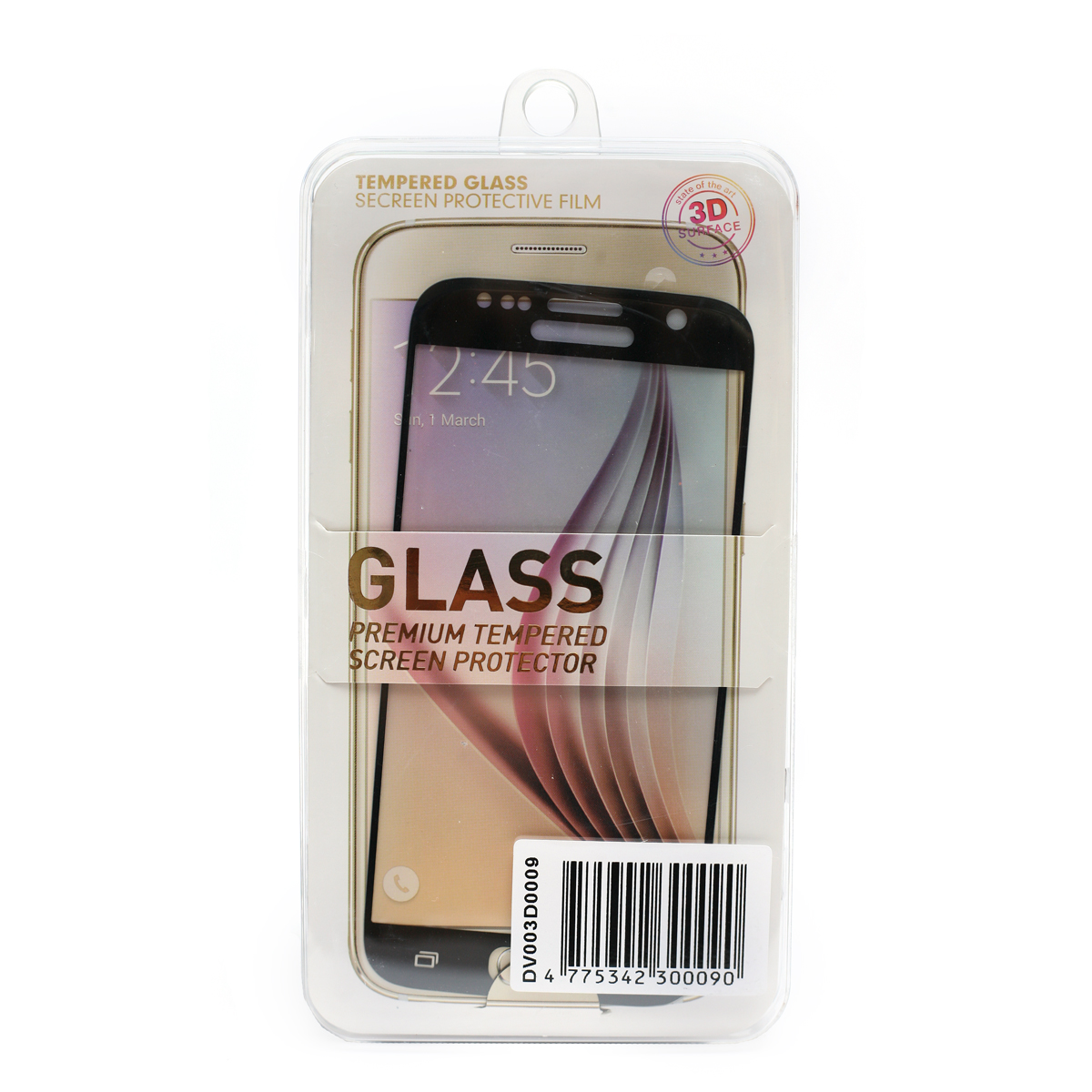 Купить Защитное стекло 3D PowerPlant для Samsung S7 Black