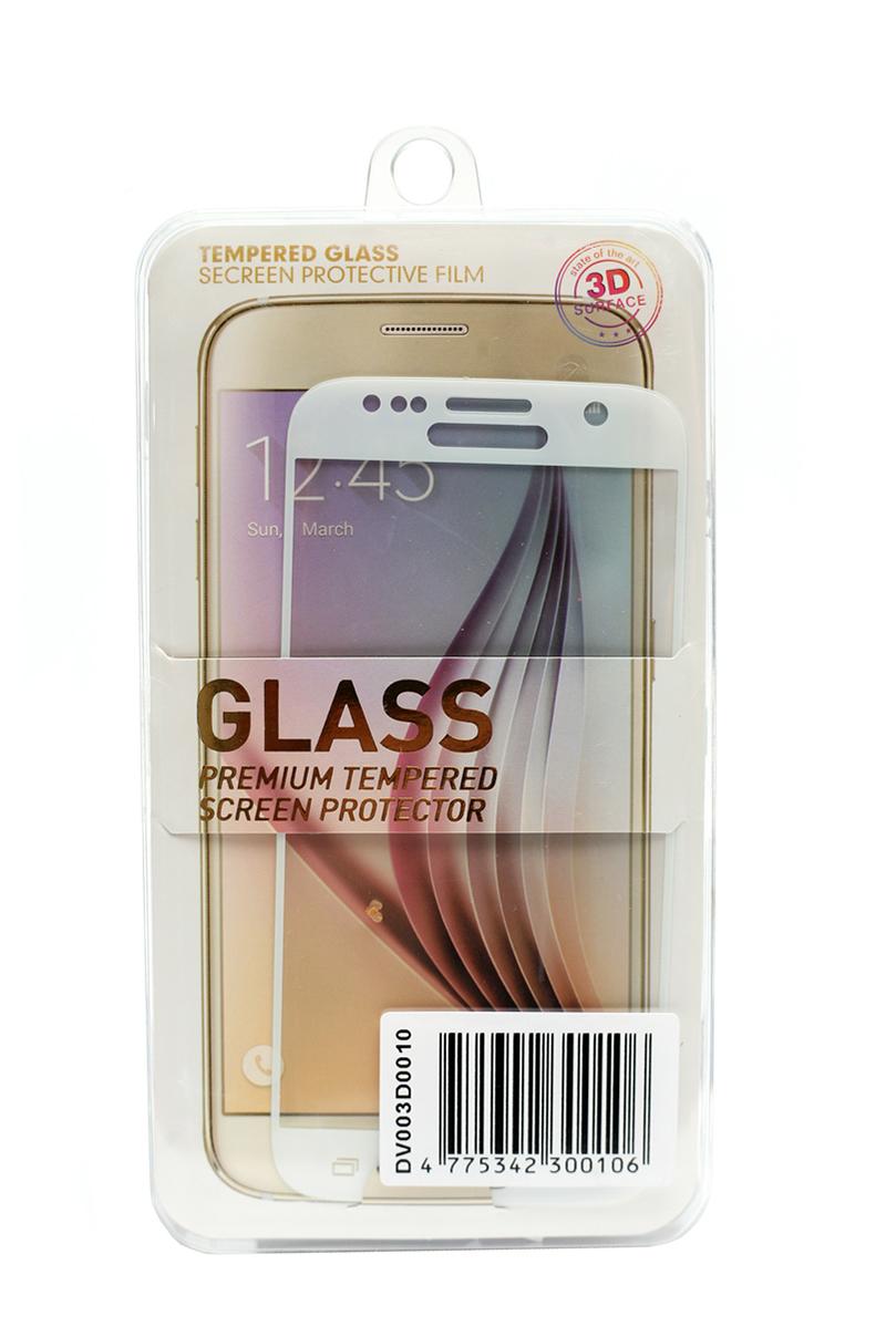 Купить Защитное стекло 3D PowerPlant для Samsung S7 White