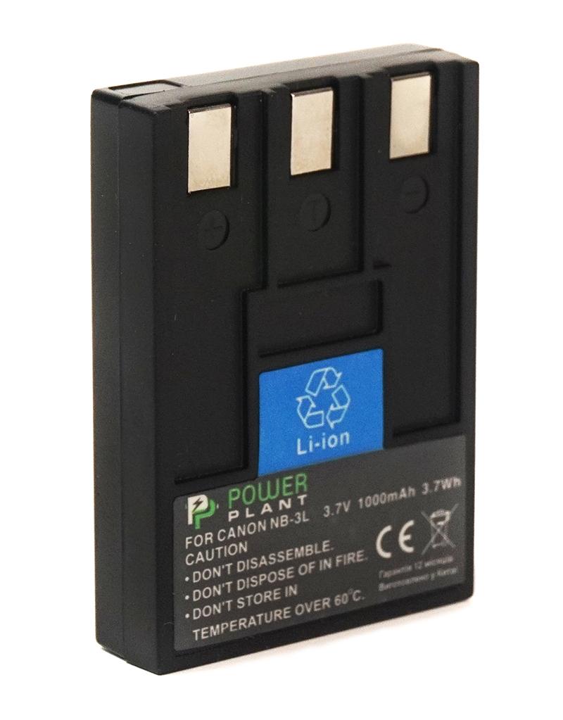 Купить Аккумулятор PowerPlant Canon NB-3L 1000mAh