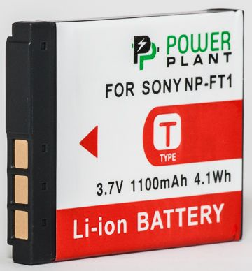 Купить Aккумулятор PowerPlant Sony NP-FT1 1100mAh