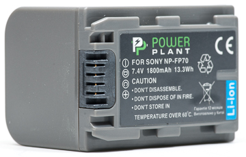 Купить Aккумулятор PowerPlant Sony NP-FP70 1800mAh