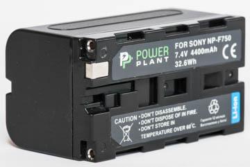 Купить Аккумулятор PowerPlant Sony NP-F750 4400mAh