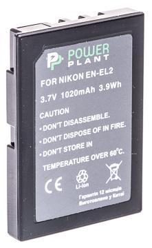 Купить Аккумулятор PowerPlant Nikon EN-EL2 1020mAh