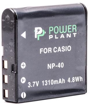 Купить Аккумулятор PowerPlant Casio NP-40 1310mAh