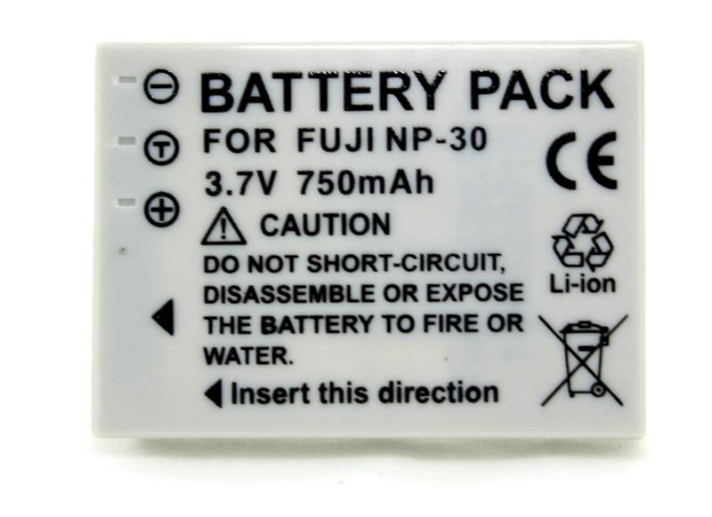 Купить Аккумулятор PowerPlant Fuji NP-30 750mAh