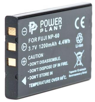 Купить Аккумулятор PowerPlant Fuji NP-60, SB-L1037, SB-1137, D-Li12, NP-30, KLIC-5000, LI-20B 1200mAh