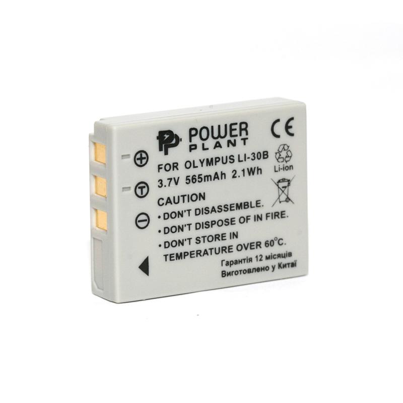 Купить Аккумулятор PowerPlant Olympus Li-30B 565mAh